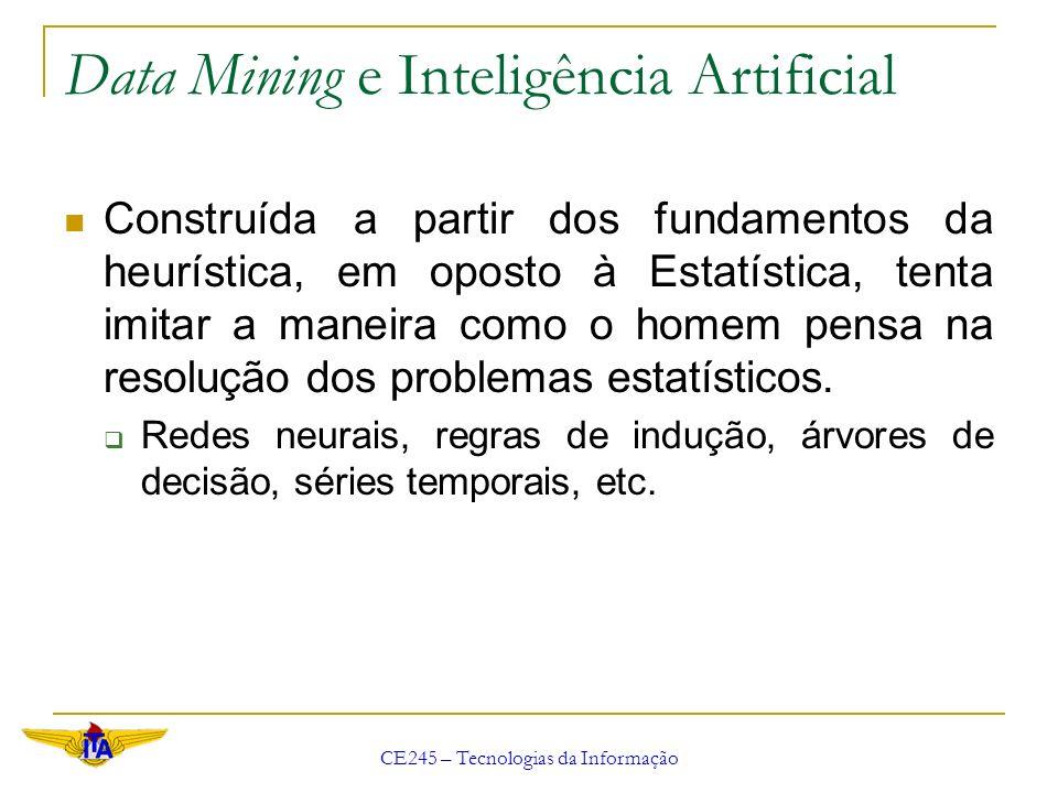 Data Mining e Inteligência Artificial