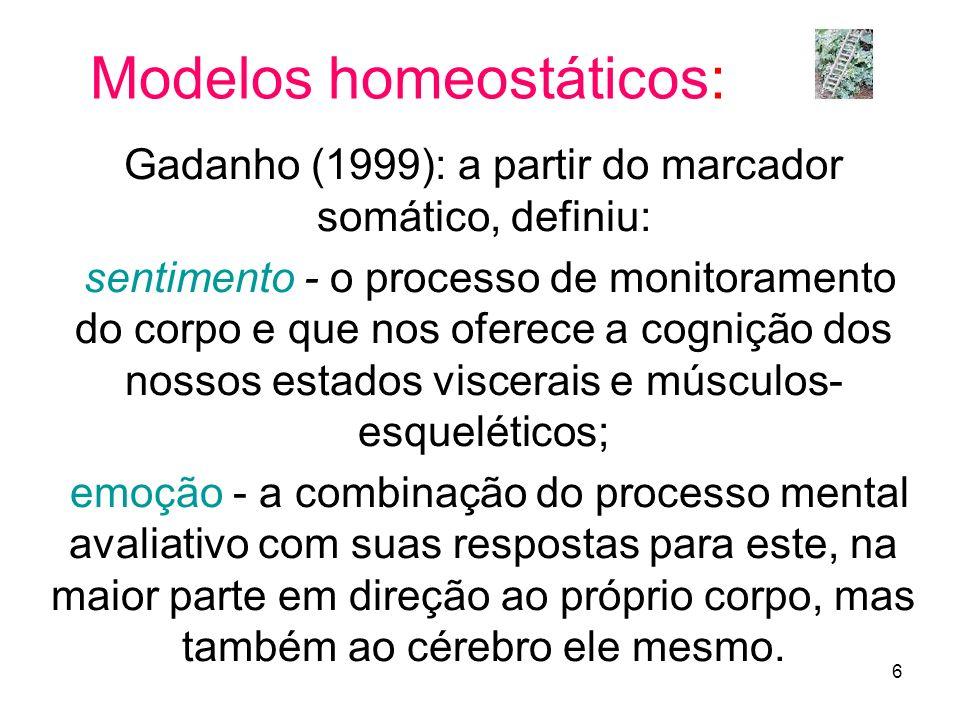 Modelos homeostáticos:
