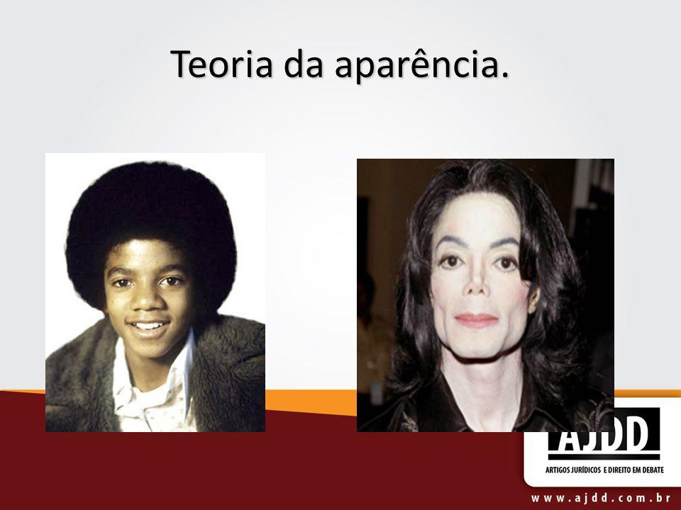 Teoria da aparência.