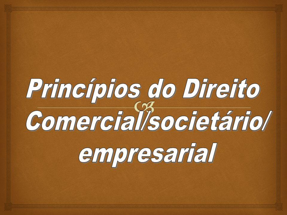 Comercial/societário/