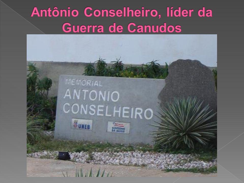 Antônio Conselheiro, líder da Guerra de Canudos