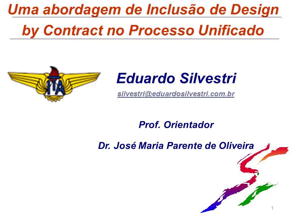 Uma abordagem de Inclusão de Design by Contract no Processo Unificado