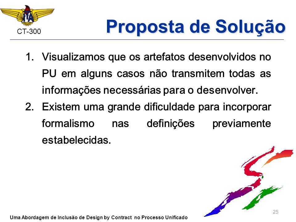 Proposta de Solução