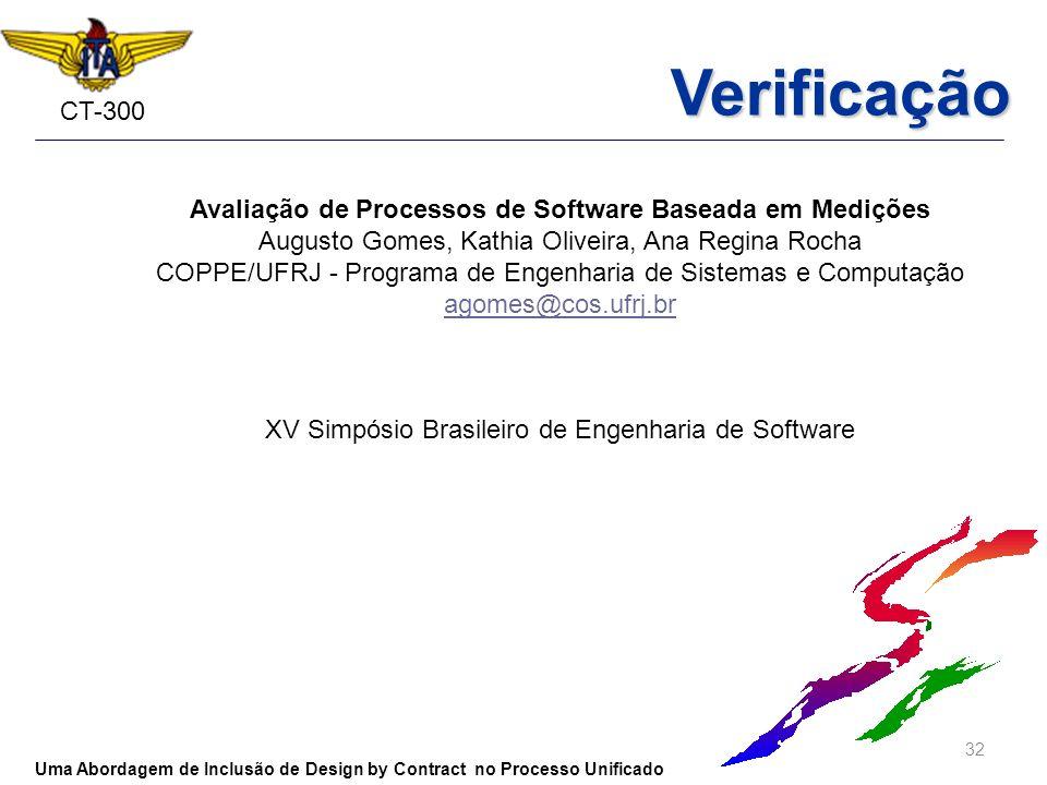 Avaliação de Processos de Software Baseada em Medições