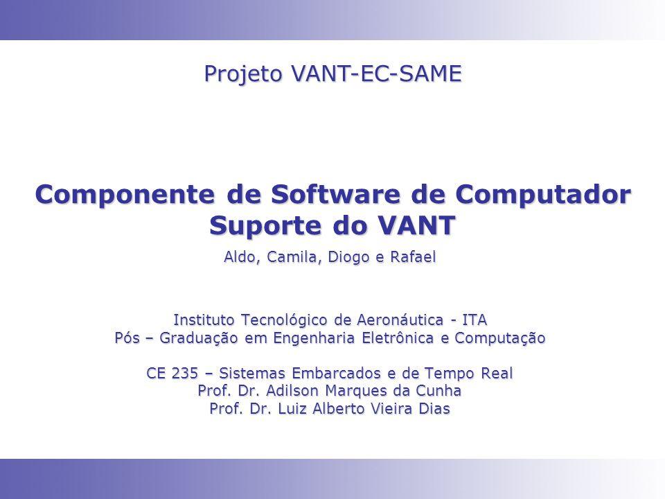 Componente de Software de Computador Suporte do VANT