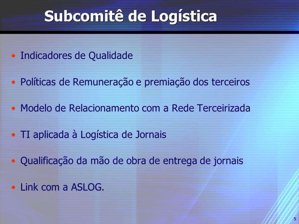 Subcomitê de Logística