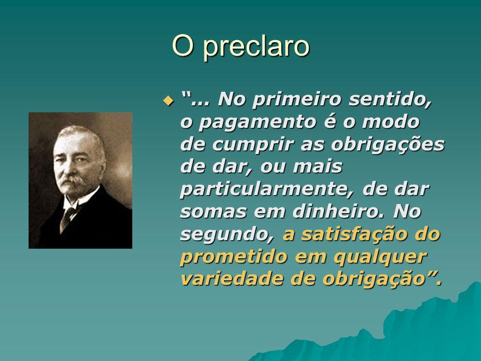 O preclaro