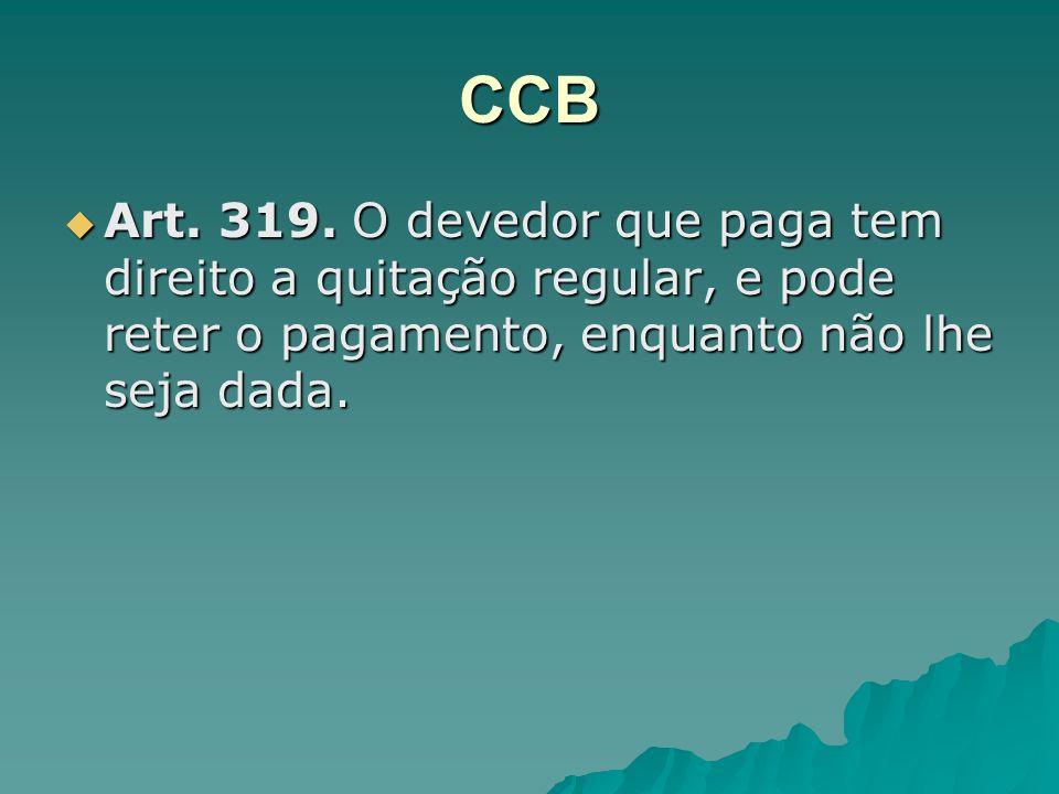 CCB Art. 319.