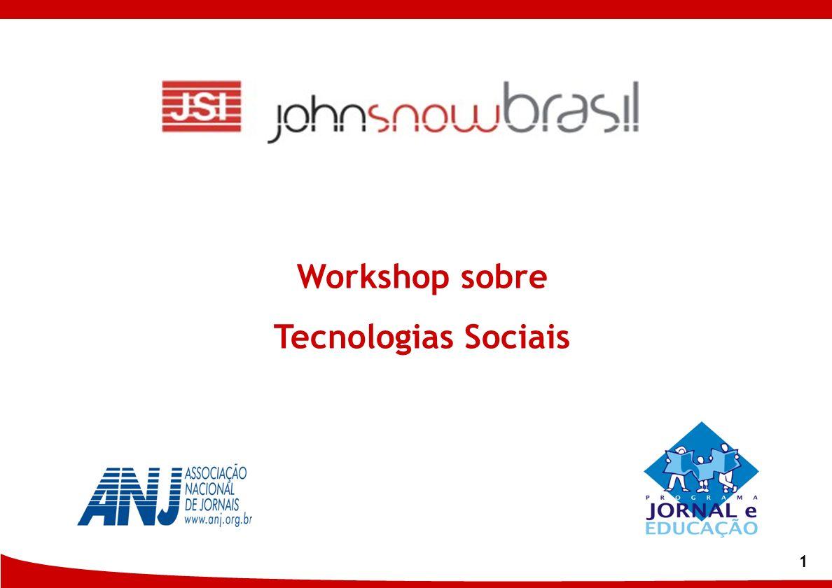 Workshop sobre Tecnologias Sociais