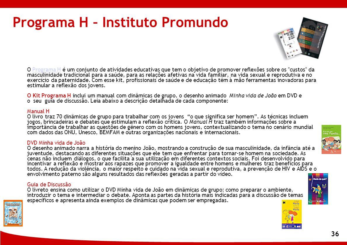 Programa H – Instituto Promundo