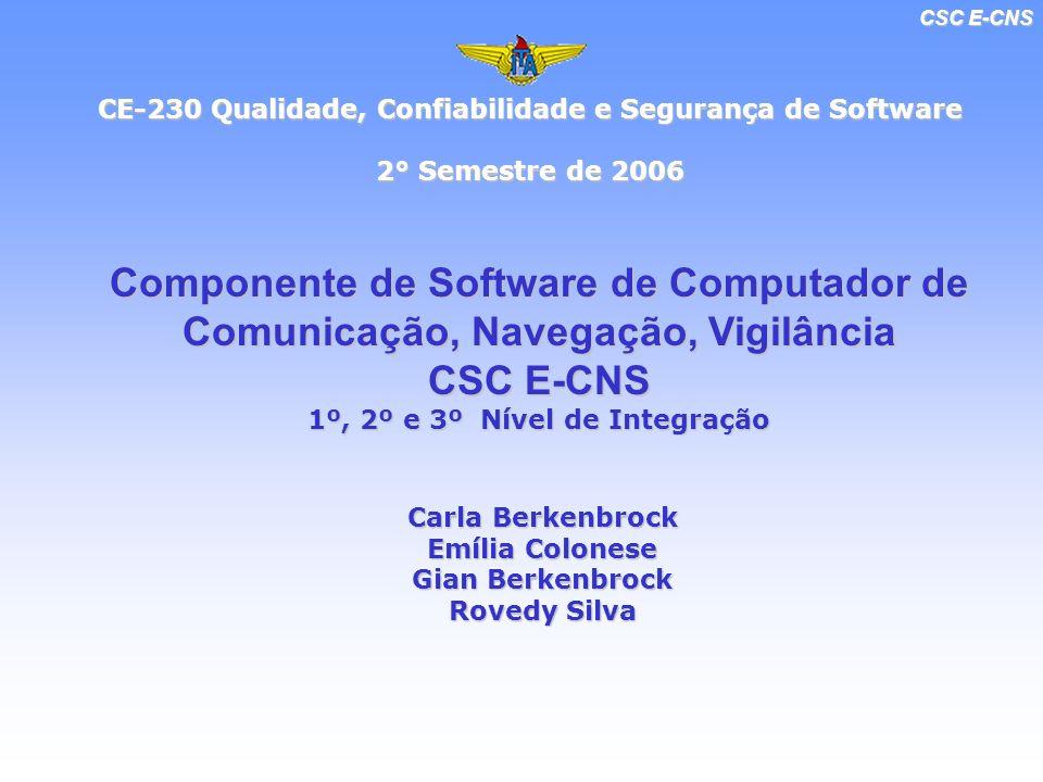 CSC E-CNS 1º, 2º e 3º Nível de Integração