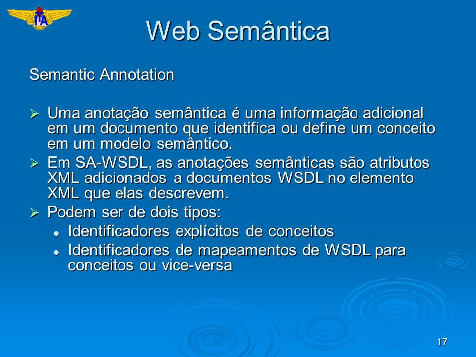 Web Semântica Semantic Annotation