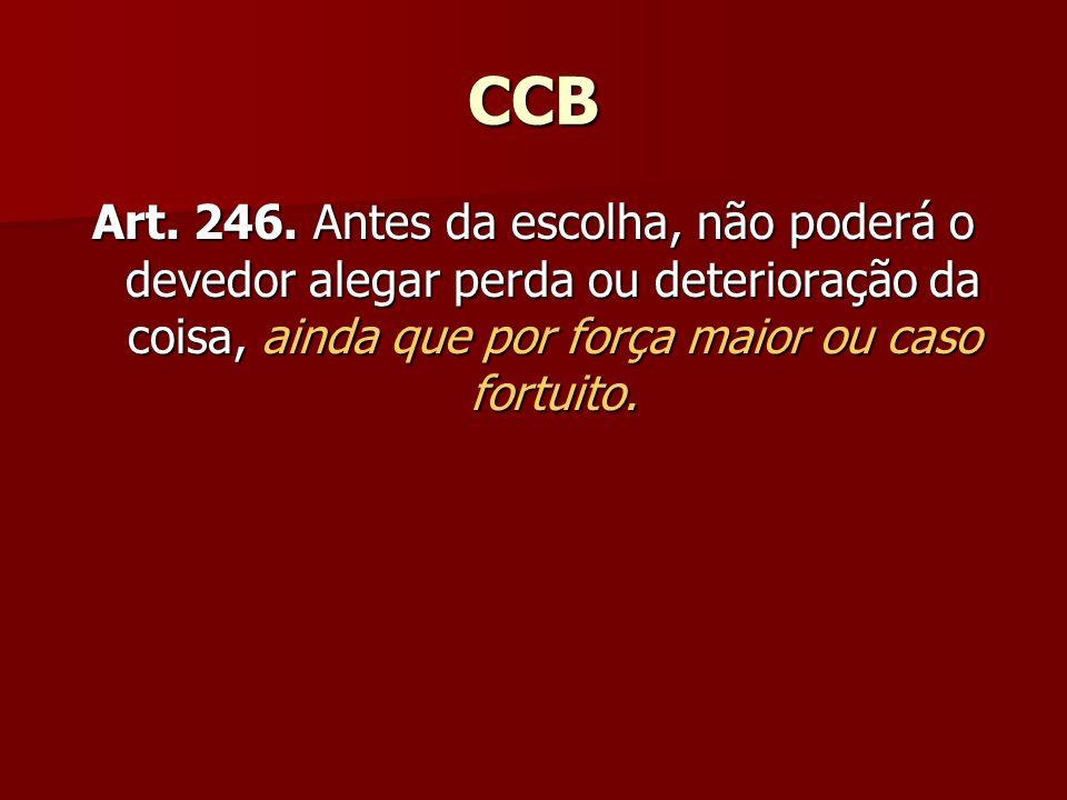CCB Art. 246.