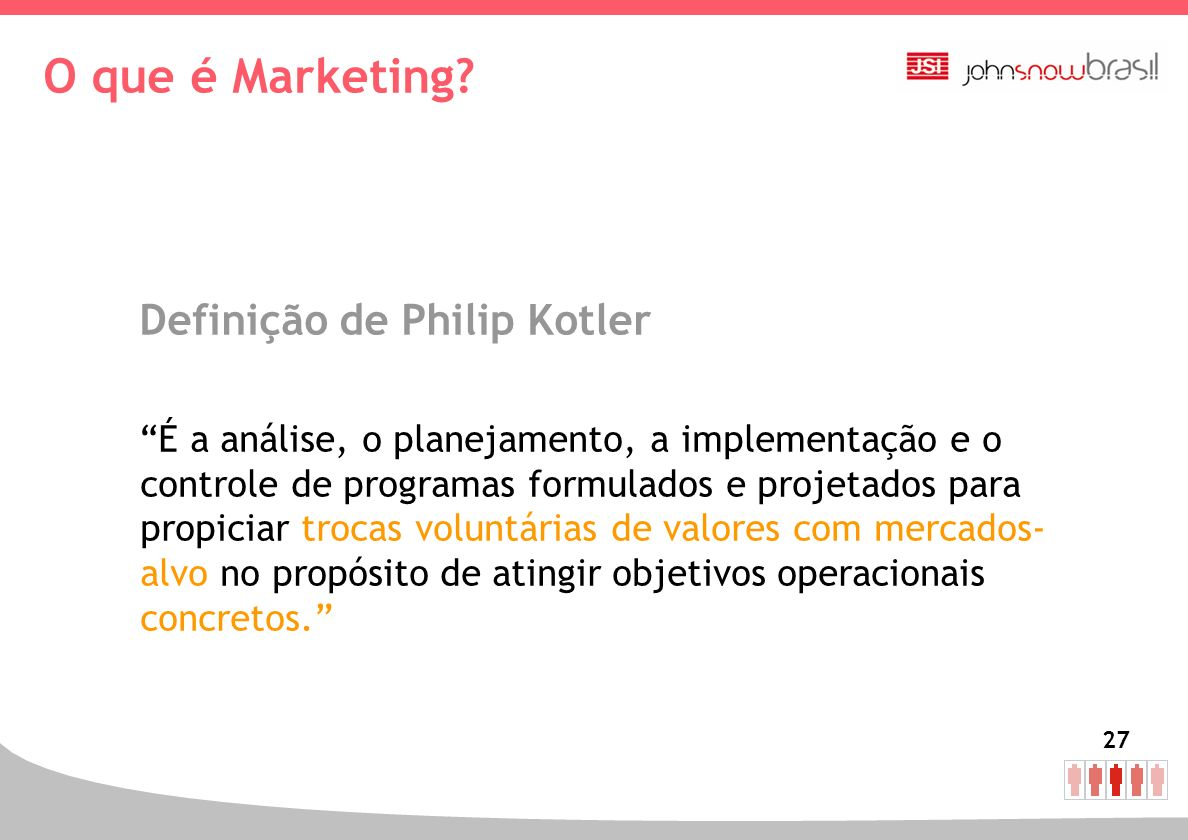 O que é Marketing Definição de Philip Kotler