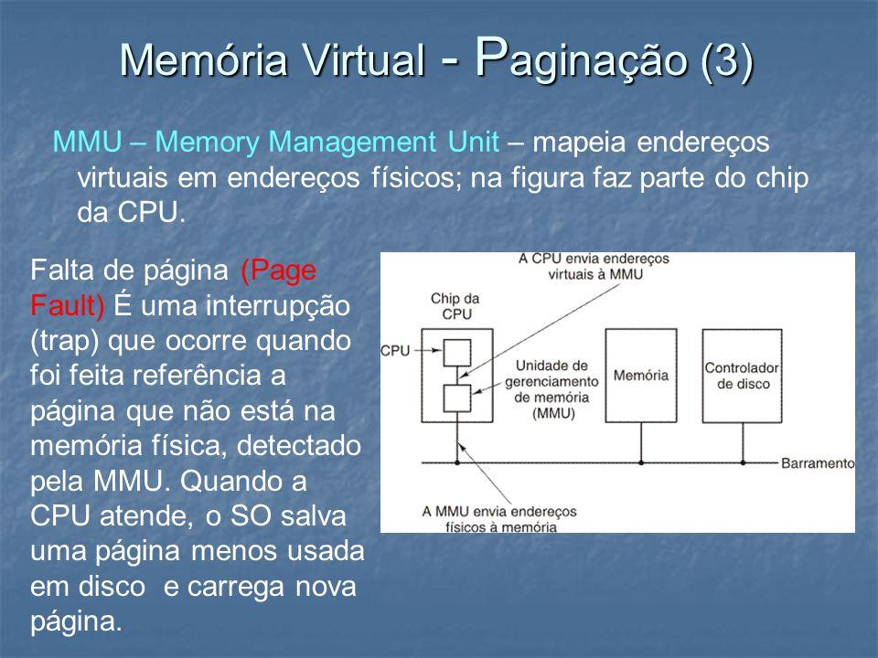 Memória Virtual - Paginação (3)