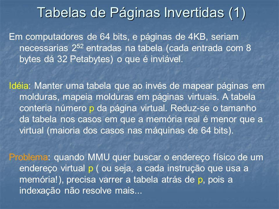 Tabelas de Páginas Invertidas (1)