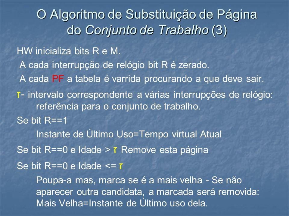 O Algoritmo de Substituição de Página do Conjunto de Trabalho (3)