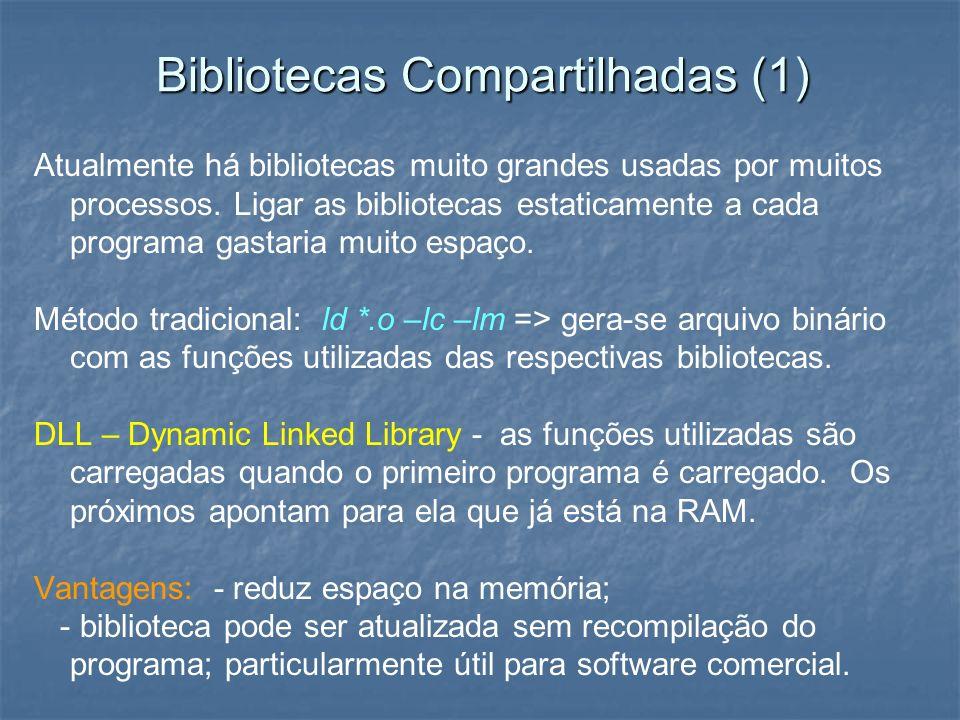 Bibliotecas Compartilhadas (1)