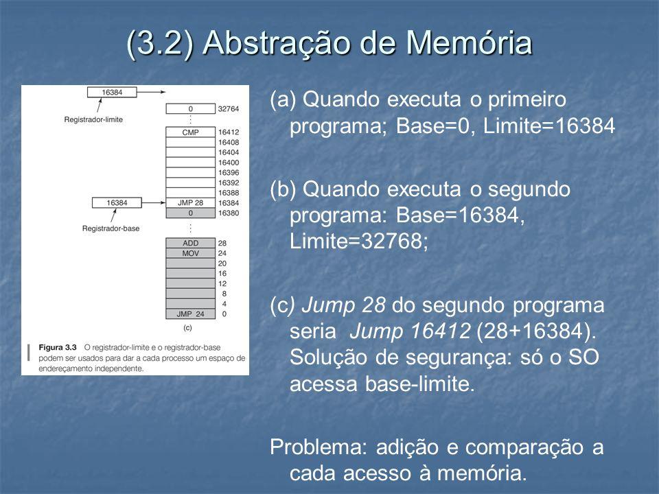(3.2) Abstração de Memória