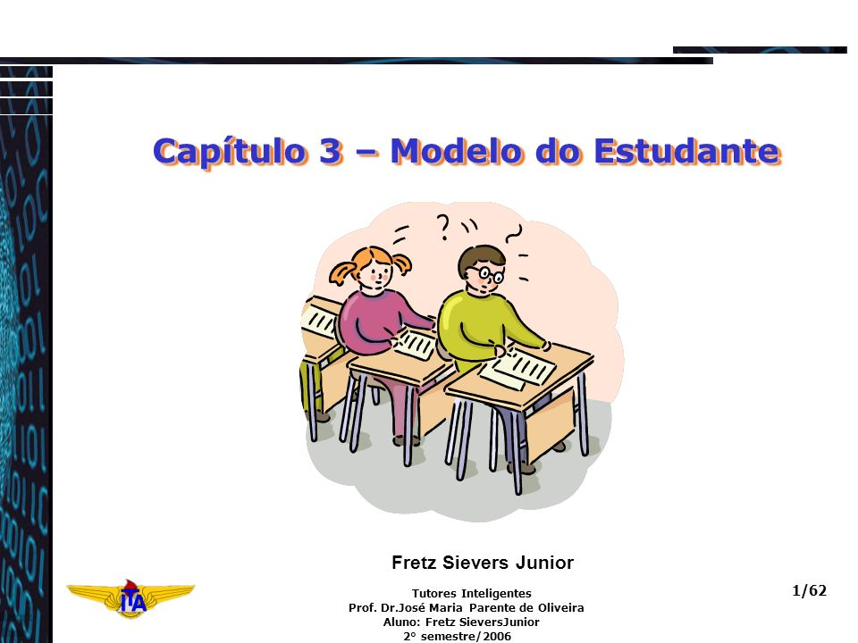 Capítulo 3 – Modelo do Estudante