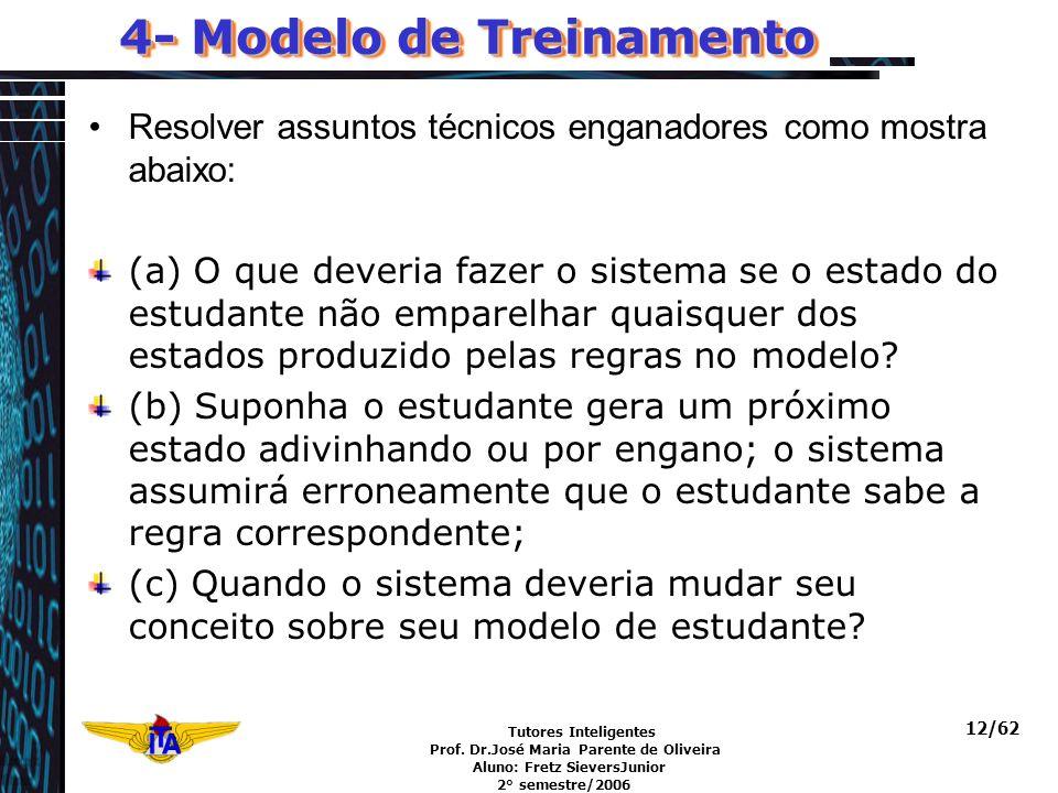 4- Modelo de Treinamento