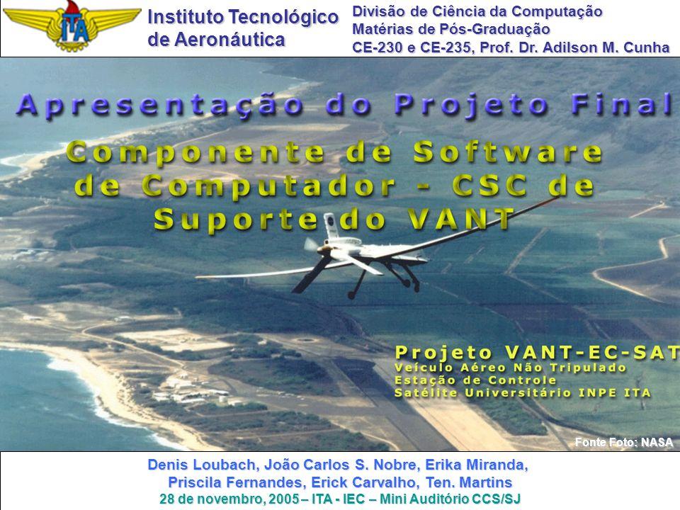 28 de novembro, 2005 – ITA - IEC – Mini Auditório CCS/SJ