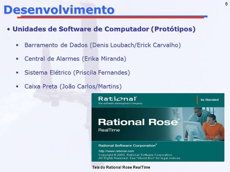 Desenvolvimento Unidades de Software de Computador (Protótipos)