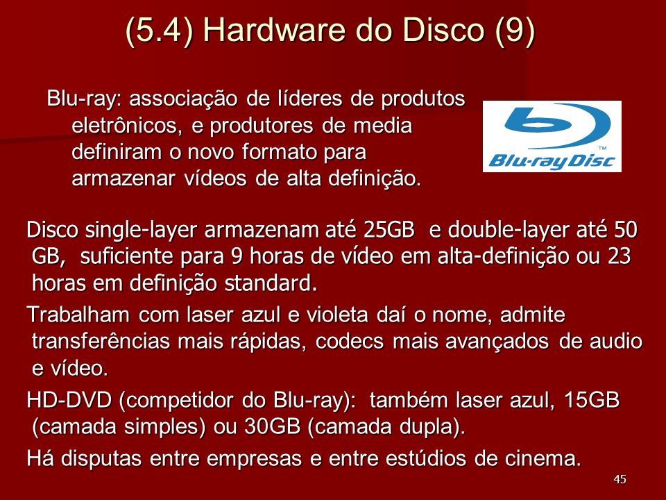 (5.4) Hardware do Disco (9)
