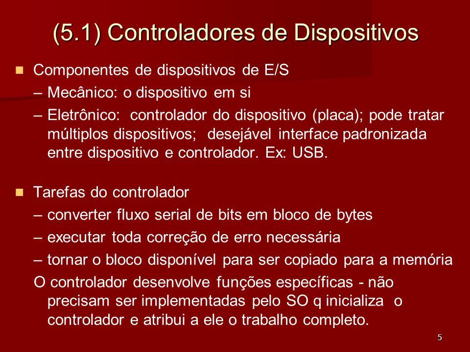 (5.1) Controladores de Dispositivos