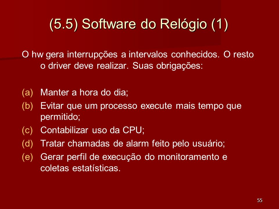 (5.5) Software do Relógio (1)