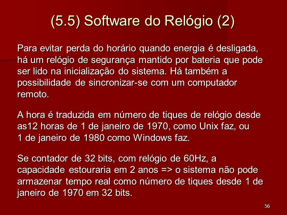 (5.5) Software do Relógio (2)