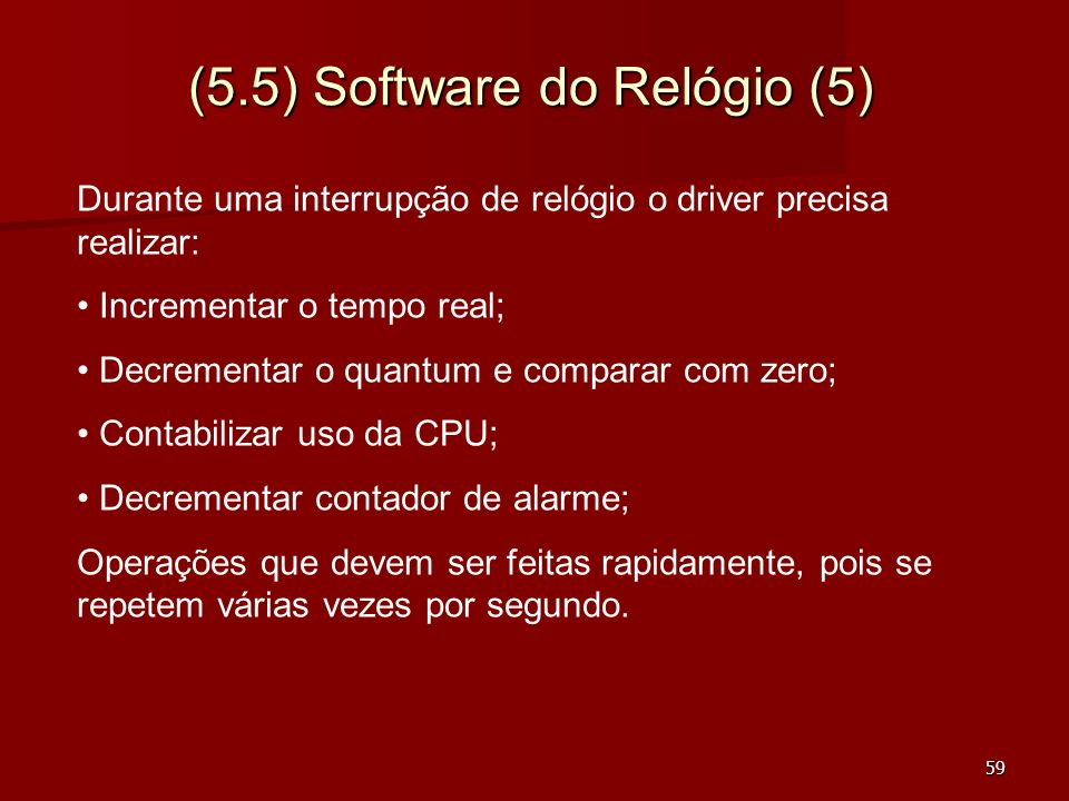 (5.5) Software do Relógio (5)