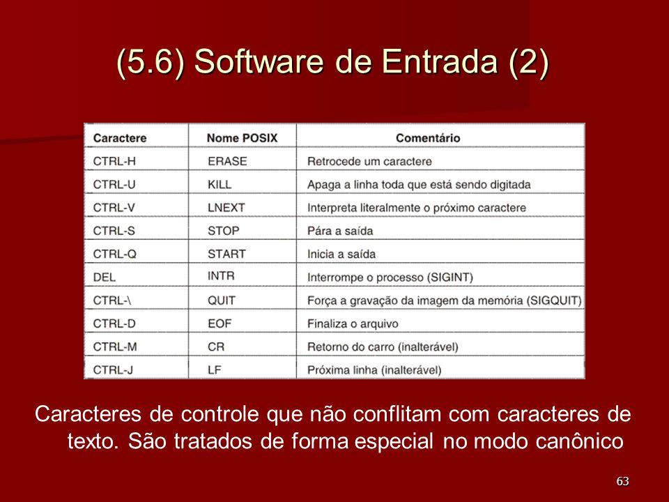 (5.6) Software de Entrada (2)