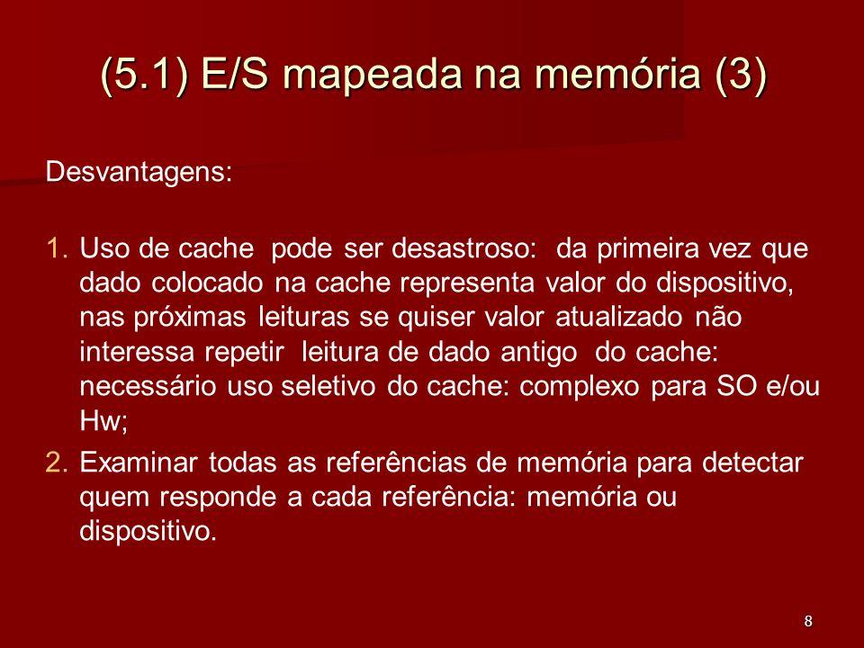 (5.1) E/S mapeada na memória (3)