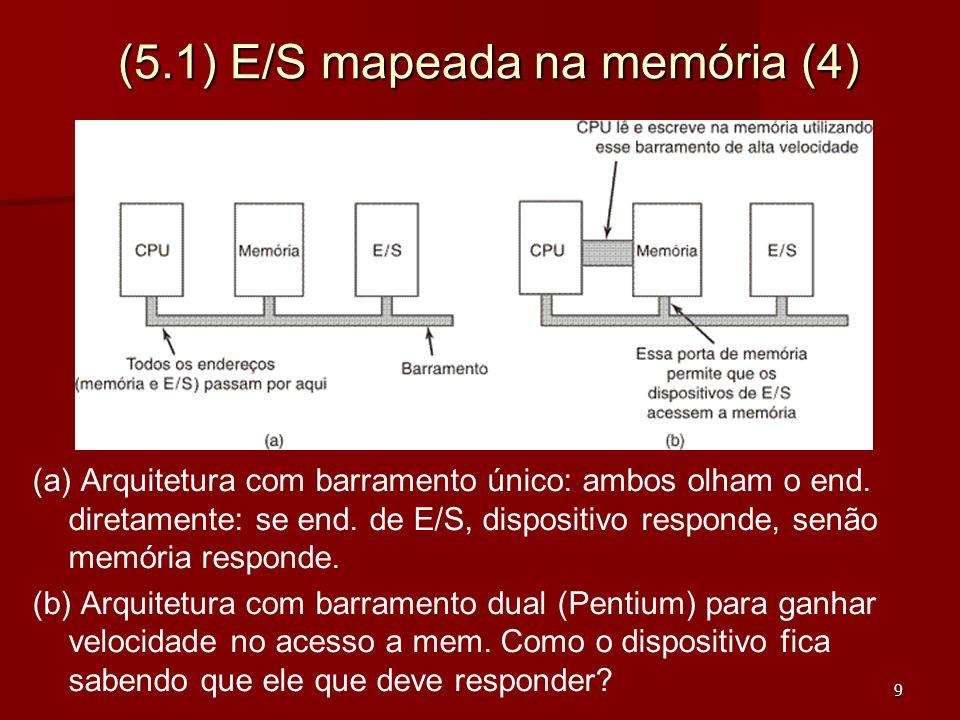 (5.1) E/S mapeada na memória (4)