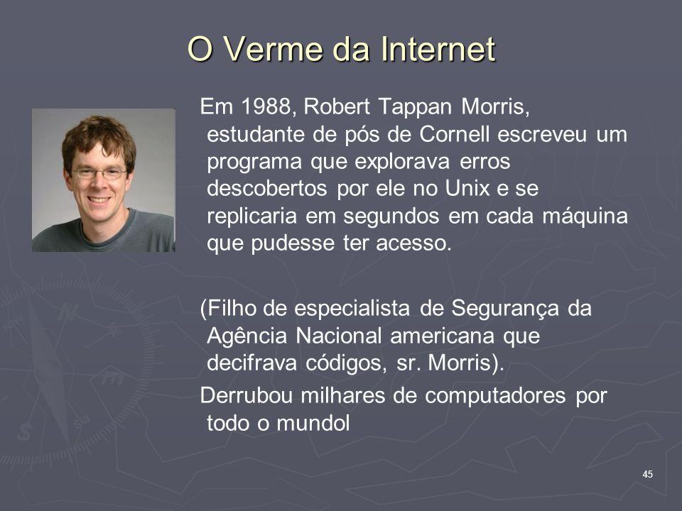 O Verme da Internet