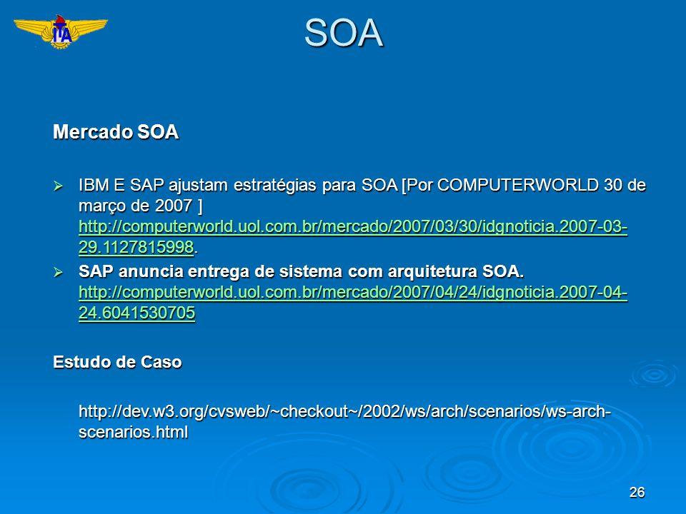 SOA Mercado SOA.
