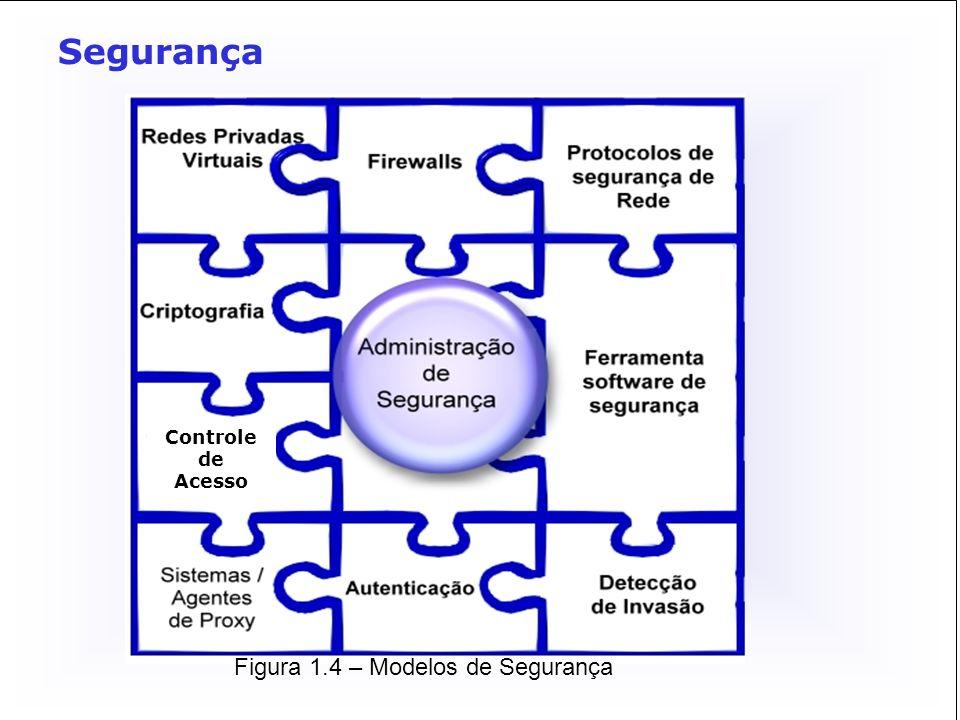 Figura 1.4 – Modelos de Segurança