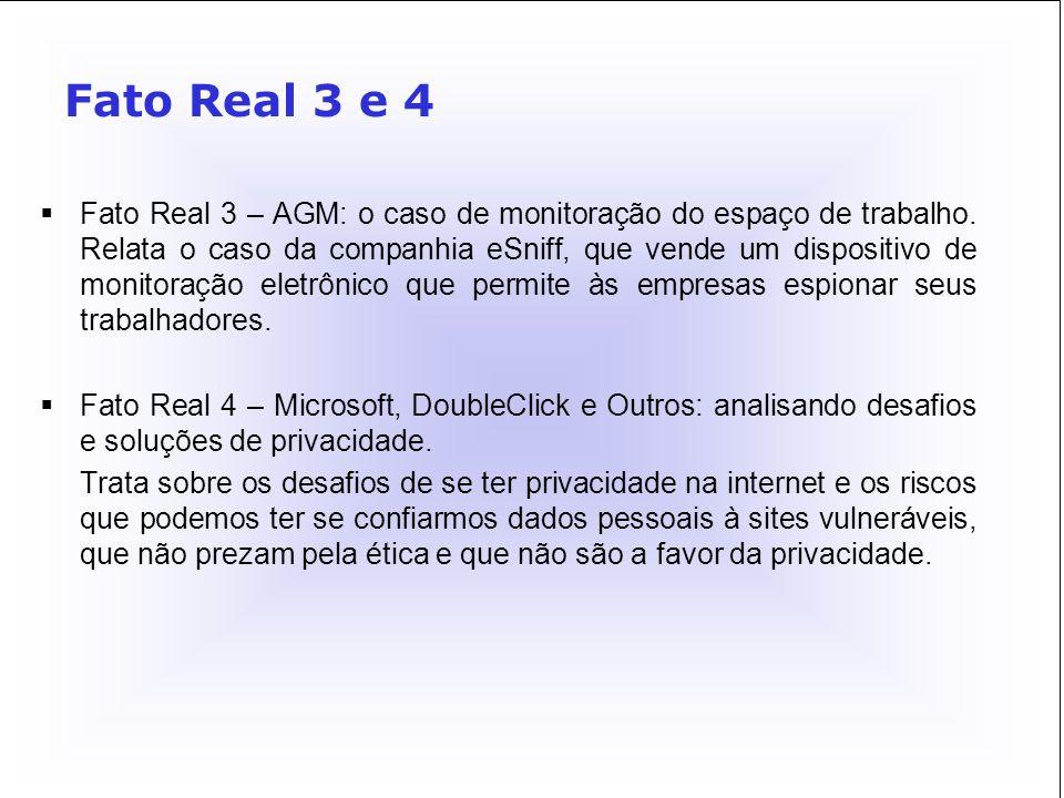Fato Real 3 e 4