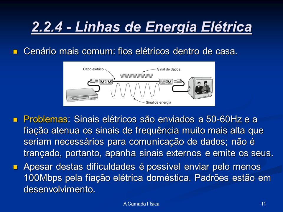 2.2.4 - Linhas de Energia Elétrica