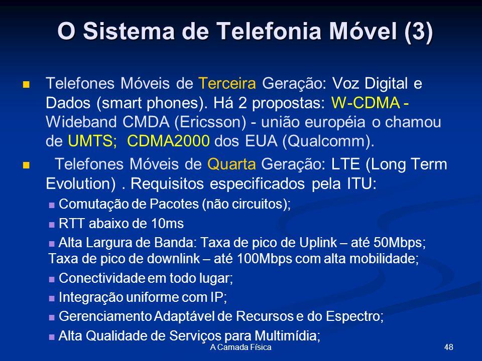 O Sistema de Telefonia Móvel (3)