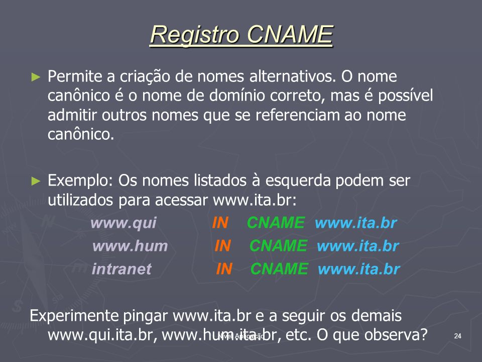 Registro CNAME