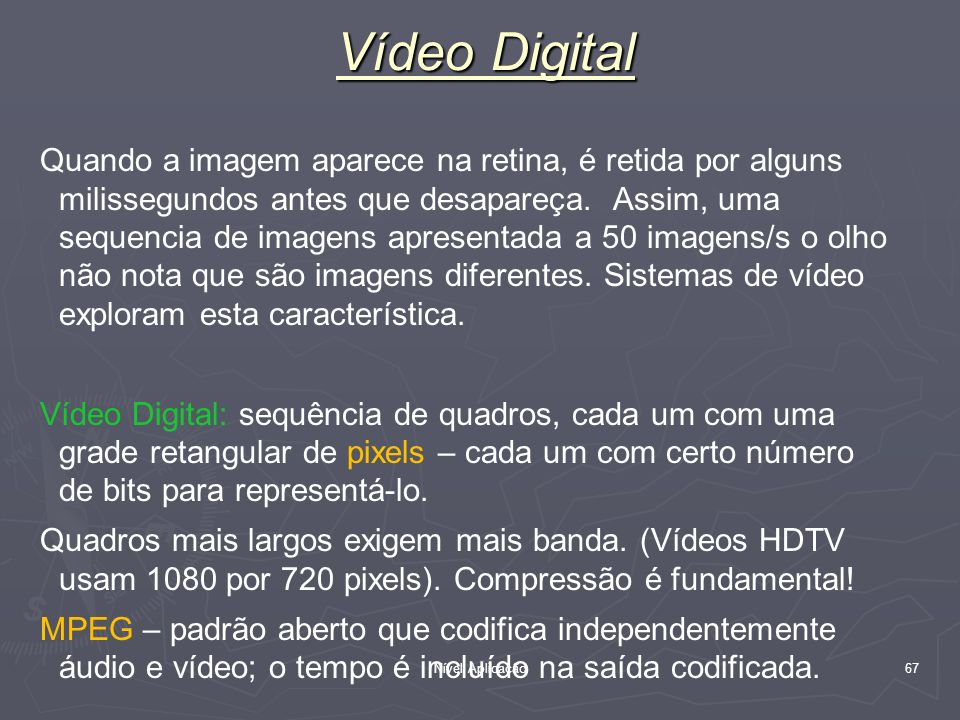 Vídeo Digital