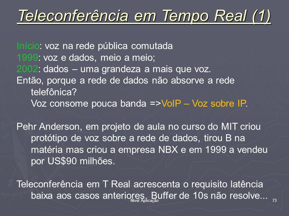 Teleconferência em Tempo Real (1)