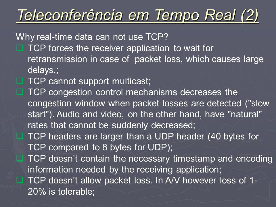 Teleconferência em Tempo Real (2)