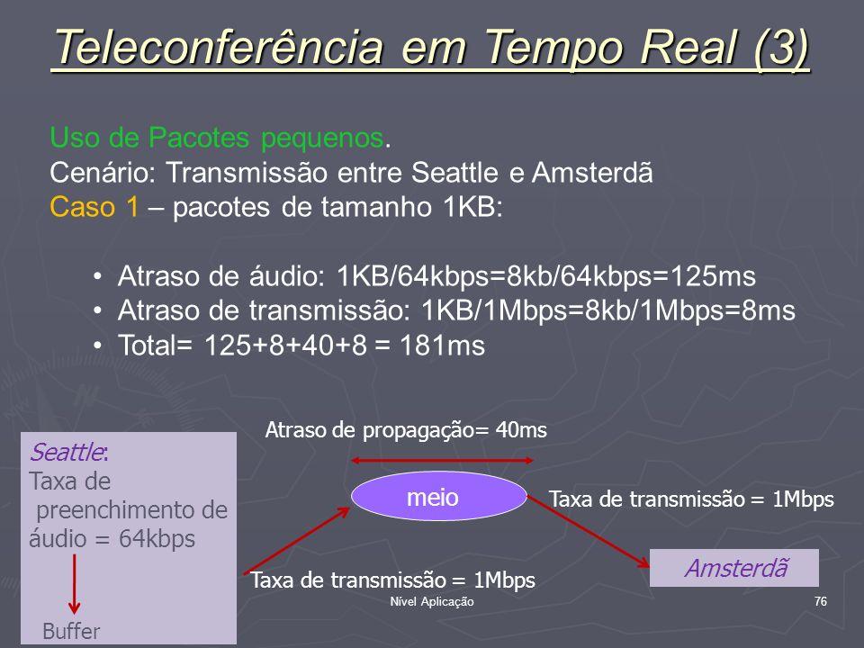 Teleconferência em Tempo Real (3)