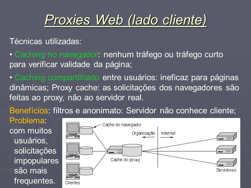 Proxies Web (lado cliente)