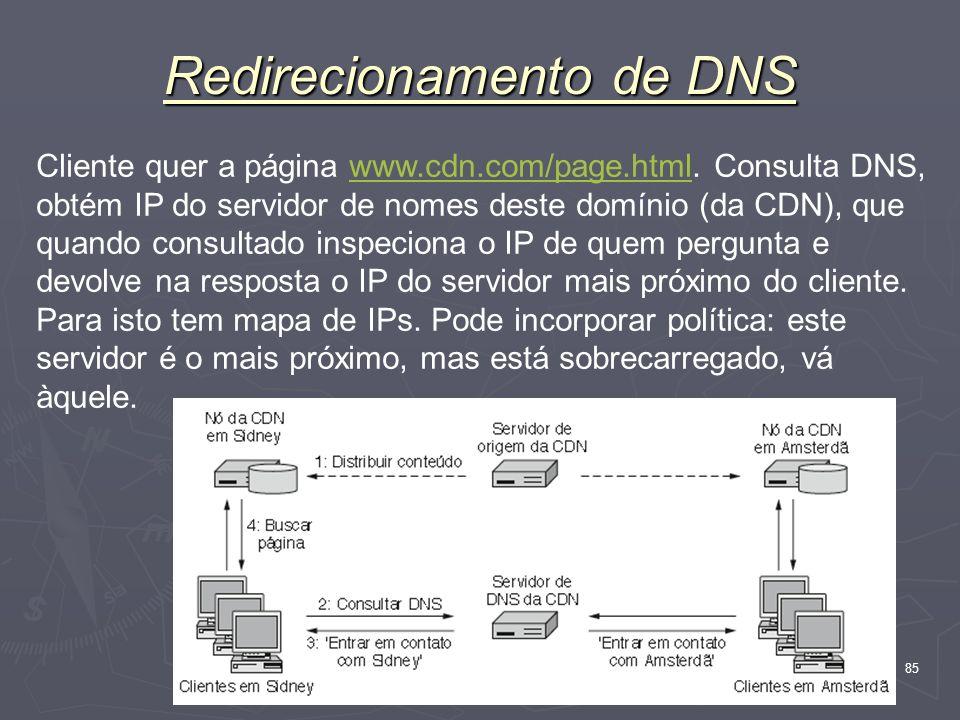 Redirecionamento de DNS