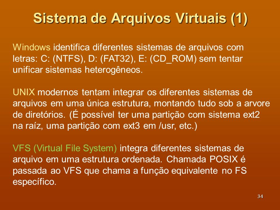Sistema de Arquivos Virtuais (1)