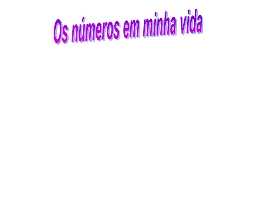 Os números em minha vida